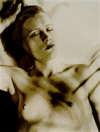 solarized nude by lee miller