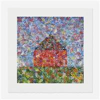 untitled (house of dots) by jennifer bartlett