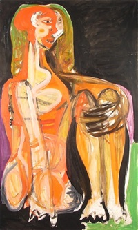 Seated woman, 1959