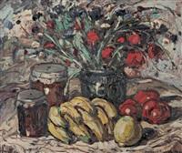 nature morte aux fruits et aux fleurs by maurice vagh-weinmann