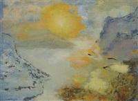 effet soleil levant haut lac by nora auric
