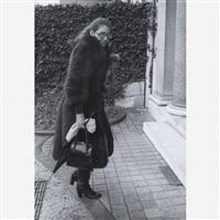 maria callas rentrant chez elle, paris by francis apesteguy