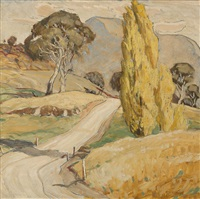 road through the valley by maxwell richard christopher ragless