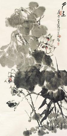 月上图 by cui ruzhuo