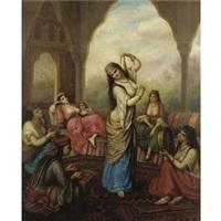 the hareem dancer by sandor alexander svoboda