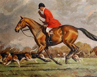 the hunt by john theodore eardley kenney