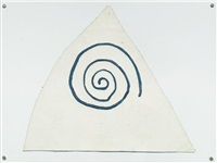 untitled (spiral) by barry flanagan