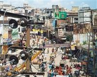 dashashwemedh road, varanasi, india by robert polidori