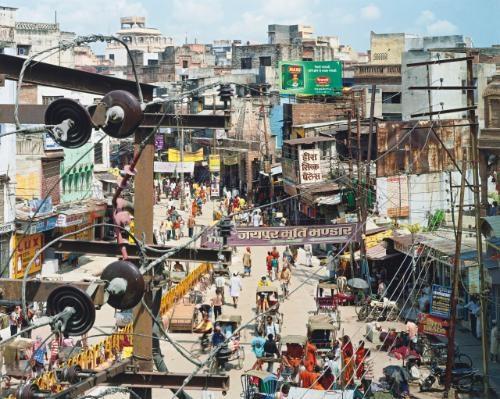 dashashwemedh road varanasi india by robert polidori