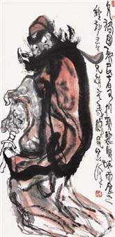 钟馗试剑 by liu han