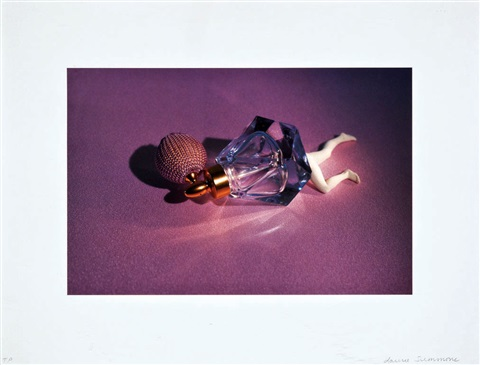 lying objects perfume bottle by laurie simmons
