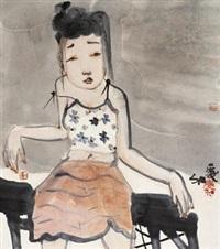 人物 by liu qinghe