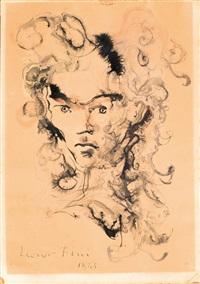 visage aurélia by leonor fini