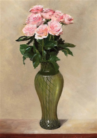 rosen in vase by erich josef donau dogarth