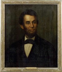 portrait of abraham lincoln by george frederick wright