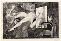 der spiegel des dorian gray (portfolio of 9) by helmut leherb