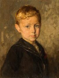 portrait of a boy by simon glücklich