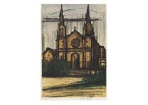 album san francisco no8 by bernard buffet