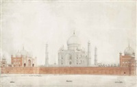 an impressive view of the taj mahal by anonymous-indian (19)