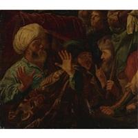 possibly ahasveros condemning haman by r. van adelo