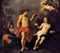 bacchus und ariadne by augustus (snip) terwesten