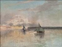 iltapurjehdus (evening sailing) by erik abrahamsson