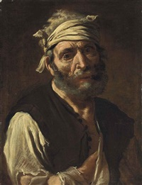study of a peasant by pietro bellotti