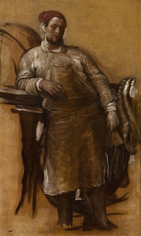 the midday rest study by george frederick watts