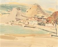 dealul alb la balcic by max arnold