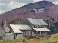 farm in the valley by charles curtis allen