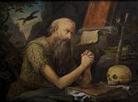 saint jerome by marinus van reymerswaele