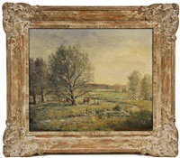 pastoral scene by h. hilliard smith