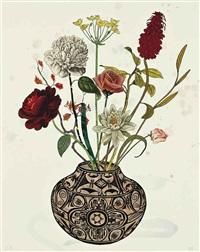 zuni flower by jane hammond