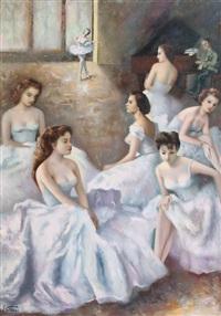 gruppo di ballerine by elio petazzi