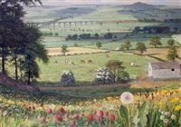 summer landscape by raymond booth