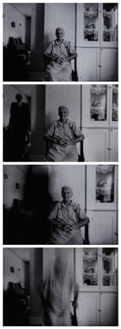 death comes to the old lady 4 works by duane michals