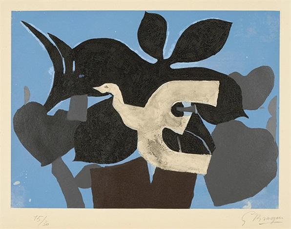 l'ordre des oiseaux (set of 12) by georges braque