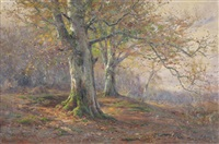autumn in the woods by frederick golden short