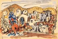 bedouin by marcel janco