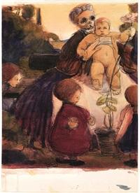 allegoria della vita e della morte by libero andreotti