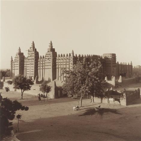 mosque de djenne mali by lynn davis
