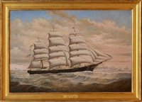 the ship leonora by percy a. sanborn