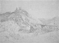 burg hohenstein im taunus by friedrich christian reinermann