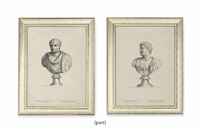 figures from antiquity of after sebastian mabre-cramoisy (10 works) by sebastien mabre-cramoisy