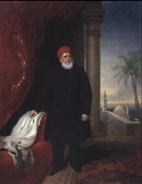 portrait de mehemet ali, pacha du caire et vice-roi d'egypte by thomas brigstocke