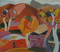 cubism painting by minas avetisian