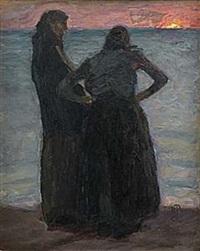 två gamla kvinnor by richard (sven r.) bergh