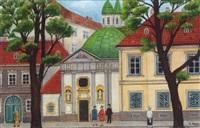 st. johann nepomukkirche in gersthof by josef pachta