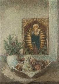 weihnachtliches stilleben by rudolf-werner ackermann