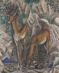 two gazelles by sei koyanagui
